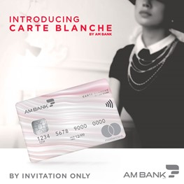 Carte Blanche by AM Bank