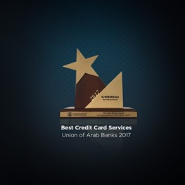 Best Credit Card Services Award