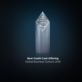 Best Credit Card Offering Award in Lebanon