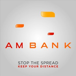 AM Bank's Social Distancing Animation Featured in Arab Ad Magazine